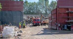 Épületbontás után a sittszállítás konténerrel egyszerűen elvégezhető
